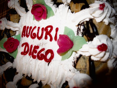 1942 - Auguri Diego (Diego Rosato) Tags: torta cake compleanno birthday auguri greetings