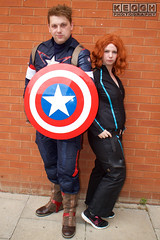 IMG_1807.jpg (Neil Keogh Photography) Tags: shield marvel theavengers stars blue cosplayers armour pants tv comics red female backpack male top jumpsuit film brown wintersoldier videogames boots black cosplay captainamerica marvelcomics blackwidow white