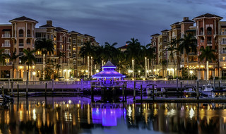 Night Time on Naples Bay