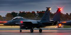 F15E 91-320 494th Holding in the North  cr (1 of 1) (markranger) Tags: f15e strike eagle strikeeagle raf lakenheath night dusk fastjet
