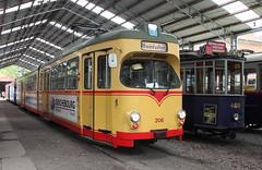 Karlsruhe tram (Schwanzus_Longus) Tags: hsm sehnde wehmingen german germany old classic vintage public transportation tram trolley streetcar museum karlsruhe waggon union dwm