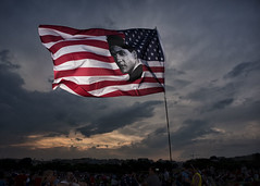 Independence Day, 2017 (Blinkofanaye) Tags: july 4th 2017 independence day washingtondc race relations symbol usa elvis class poor whites flag stars stripes fourth 45th trump