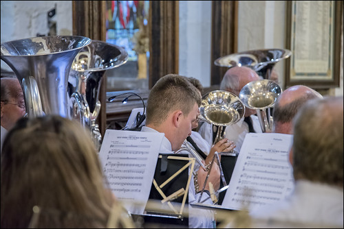 Basses and Cornets.  Photo courtesy of Clive Sutton.