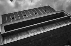South Bank Remains Brutal © (wpnewington) Tags: southbank london brutal architecture brutalist concrete monochrome bw windows shapes squares rectangles