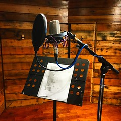 Vocals Amongst The Woodwork (Pennan_Brae) Tags: soundengineering musicproduction musicproducer vocals microphones mic microphone sing musicstudio musicphotography recordingsession recordingstudio music recording singing