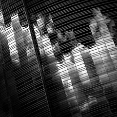 Oscillation - Angie McMonigal Photography-6697-Edit (Angie McMonigal) Tags: abstract milwaukee milwaukeeartmuseum abstractarchitecture architecture santiagocalatrava