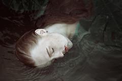 Ophelia (gorecka) Tags: woman water portrait natural ophelia model