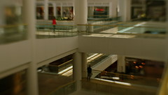 Layers (MPnormaleye) Tags: patterns design architecture urban mall floors lensbaby blur sweet35 soft shoppers seeinanewway