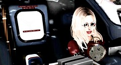 """Me too ! I want to be a Baby Driver ""  \☺/ (Sey official) Tags: annie catwa bento secondlife fantasy driving lesson delorean art3d"