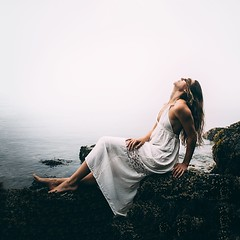 I prefer seeing with my eyes closed (p_terencia) Tags: feelingsemotions dramatic act model modesty sadness alone girl selfportrait world dark waters lucidity dreamy dreams dream meaningful surrealism surrealist feeling surreal ocean