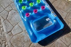 Floating mattress (iben.andrea) Tags: floating mattress summer blue ground