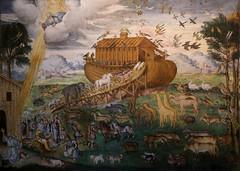 Aurelio Luini (1530-1593) - arca di Noè (1555 circa) - San Maurizio al Monastero Maggiore Milano (raffaele pagani) Tags: sanmaurizioalmonasteromaggiore stmauriceatthemonasterymajor sanmaurizio chiesa church convent affresco fresco bernardinoluini aurelioluini giovanpietroluini luinifamily milano milan lombardia lombardy italy canon