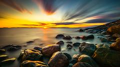Paskakuva.jpeg (Edgar Myller) Tags: sunset sea aurinko long exposure longexposure stone coast nd filter polarizer suomi finland porkkala paska kuva jpeg water tones colors colorful