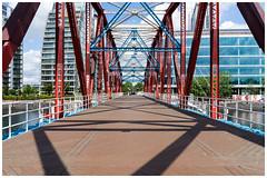 Detroit Bridge (jason_hindle) Tags: manchester unitedkingdom detroitbridge nvbuildings salforddocks salfordquays