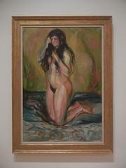 DSCN9106 _ Female Nude (Anna), 1920, Edvard Munch, SFMOMA (Matthew Felix Sun) Tags: sanfrancisco sfmoma museum munch edvardmunch exhibition july 2017 betweentheclockandthebed