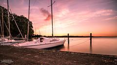 Sonnenuntergang in Plön am See (diablopb) Tags: sonnenuntergang sonnenaufgang sunset sunrise plön plönamsee see sea water wasser canon canon70d uww ultraweitwinkel