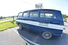 Classic Cars Corvair Club Hoyt's Restaurant Lexington, NC 20170710_4239 (Shane's Flying Disc Show) Tags: classiccars corvairclub davidson nc lexinton unsafeatanyspeed daredevils