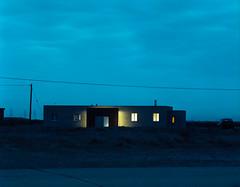 (danny.rowton) Tags: mediumformat 120 portra tripod longexposure night twilight house analogue analog slr pentax 6x7 film pylons still stillness