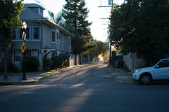 Alley Walks-Sacramento (adrianonymous) Tags: sacramento sac alley sunset cats shit art lighting