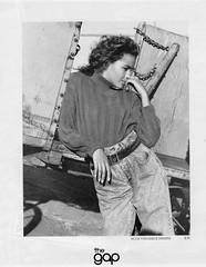 The Gap 1987 (barbiescanner) Tags: vintage retro fashion vintagefashion vintageads 80s 1980s 80sfashion 1980sfashion thegap jeans denim
