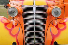 1937 Chevrolet (crusaderstgeorge) Tags: crusaderstgeorge cars classiccars chevrolet chrome carmeet 1937chevrolet americancars americanclassiccars americancarsinsweden västeråssummermeet västerås veterancar colourful orange