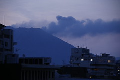 Sakura-jima eruption (M. Mikamo) Tags: sakurajima kagoshima dawn eruption morning japan sky ash volcano