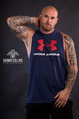 Model Nick (Shawn Collins Photography) Tags: model muscle bodybuilder fitnessmodel malemodel shirtless hunks handsome tattoo beard scruff hairy abs chest
