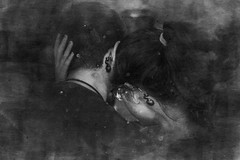 EXPERIMENTO 8 (MoonCarver) Tags: love dragon ball dragonball potara couple pareja amor her him them black blackandwhite blackness tattoo matchtattoo match perfect novios boyfriend girlfriend boy girl bnw blackwhite