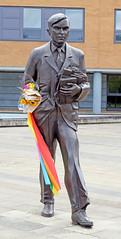 Alan Turing (Russtafa) Tags: sculpture statue alan turing university surrey maths mathematician homosexual gay