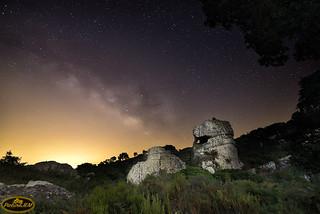 Vía Láctea en la Montera del Torero