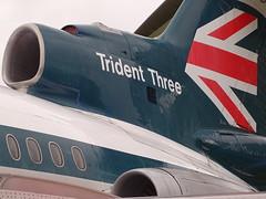 Hawker-Siddeley Trident Three (Balticson) Tags: tridentaircraft bea britisheuropeanairways beatrident aircraft britishaircraft hawkersiddeleytrident hawkersiddeley tridentthree 1970sgraphics 1960saircraft