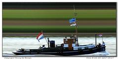 Dora (Morthole) Tags: slitscan ship boat schip boot barge binnenvaart schiff rheinschiff dora sleepboot tugboat tug schlepper remorqueur