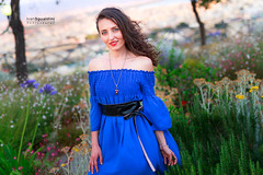 Mary_20170623_0239 (ivan.sgualdini) Tags: 50art 6d beauty blue cagliari canon cute dress female girl mary park portrait sigma woman natural light flower color face bokeh