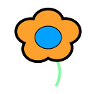 flower 692 icon (kwippe) Tags: icons clipart vector