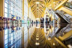 An Airport Named After Ronald Reagan (Thomas Hawk) Tags: dc dca districtofcolumbia national reagannational ronaldreaganwashingtonnationalairport usa unitedstates unitedstatesofamerica washingtondc airport architecture fav10 fav25 fav50 fav100