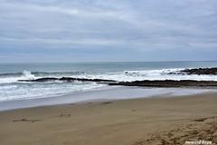 Mar, arena y rocas. (Howard P. Kepa) Tags: paisvasco euskadi gipuzkoa zumaia marcantabrico playadeitzurun arena olas rocas