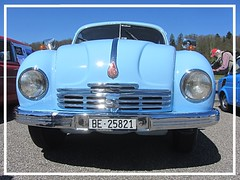 Tatra Tatraplan T 600, 1951 (v8dub) Tags: tatra tatraplan t 600 1951 rare scarce schweiz suisse switzerland bleienbach czech pkw voiture car wagen worldcars auto automobile automotive old oldtimer oldcar klassik classic collector