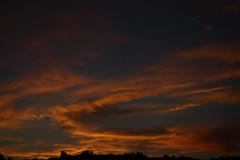 Sunset 6 21 17 #05 (Az Skies Photography) Tags: sun set sunset dusk twilight nightfall cloud clouds sky skyline skyscape rio rico arizona az riorico rioricoaz arizonasky arizonaskyline arizonaskyscape arizonasunset red orange yellow gold golden salmon black canon eos 80d canoneos80d eos80d june 21 2017 june212017 62117 6212017