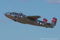 panchito_takingoff7 (ronfin44) Tags: wwii wwiiweekend wwiiairshow war airplane aircraft soldiers allies allied axis german ss nazi yankee lady b17 b25 b24 liberator panchito russians russian ruskie british paratrooper army navy marines airforce veterans veteran uniform medals awards troops
