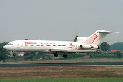 TS-JHW Boeing 727-2H3 Tunisair (pslg05896) Tags: tsjhw boeing727 tunisair bru ebbr brussels zaventem
