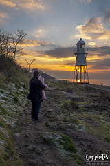 Sunset at Black Nore (lpg_photos) Tags: lighthouse blacknore portishead