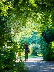 "Man and child in summer sun • <a style=""font-size:0.8em;"" href=""http://www.flickr.com/photos/44919156@N00/34964941624/"" target=""_blank"">View on Flickr</a>"