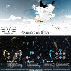 E.V.E Seahorses and Glitter [Info] (eve.studio (Noke Yuitza)) Tags: eve theseasonsstory seahorses glitter animatedmeshparticlelights wearandrezz artanddesign secondlife animated 100originalmeshdesign fantasy nature