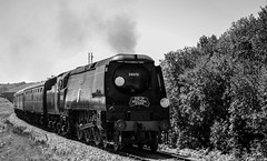 The End. (Ben_Broomfield) Tags: swanagerailway southern sunrise 50 years steam smoke southernsunrise 34070 manston