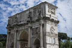 Arch of Constantine (Glenn Pye) Tags: archofconstantine colosseum rome roma ruins italy europe nikon nikond7200 d7200