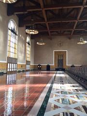 Union Station, LA (NettyA) Tags: usa travel appleiphone6 california unionstation losangeles city building
