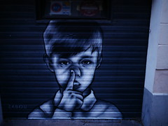 P1370033 (Piterpan23) Tags: paris paris13 streetart zabou butteauxcailles