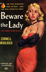 Pyramid Books 80 - Cornell Woolrich - Beware the Lady (swallace99) Tags: pyramid vintage 50s femmefatale thriller paperback clarencedoore