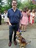 Sean & Sadie I (edenpictures) Tags: wedding firstunitarianchurch providence rhodeisland servicedog sean sadie dog cousin