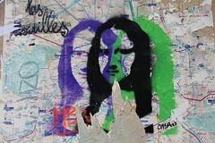Omaj_7145 rue des Trois Frères Paris 18 (meuh1246) Tags: streetart paris paris18 buttemontmartre omaj ruedestroisfrères joconde monalisa leonarddevinci